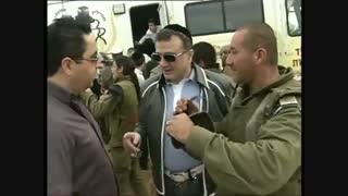 مایکل میری لاشویلی در بازدید از ارتش رژیم صهیونیستی