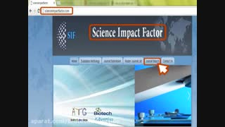 آموزش بررسی ضریب تاثیر (ایمپکت فاکتور) مجلات علمی ISI