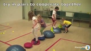 فعالیت های تعادل و هماهنگ سازی برای کودکان و نوجوانان - تمرینات تقویت بالانس بالانس