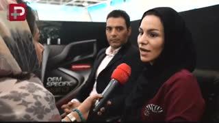 غافلگیری بزرگ دوچرخه سوار زن دستفروش ایرانی توسط یک جوان باغیرت
