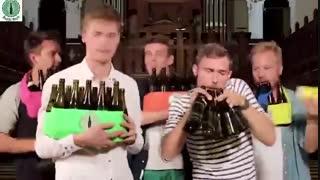 آهنگ جالب با استفاده از بطری