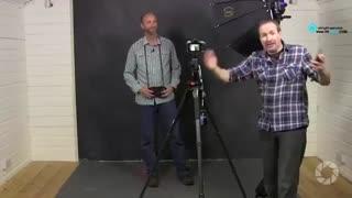 آموزش عکاسی : ایجاد بکگراند با نور LED
