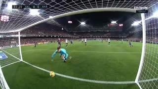 خلاصه فوتبال والنسیا 1-1 بارسلونا