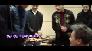 GOT7 JYP اجرای خنده دار آهنگ confession گات سون در استدیو برای JYP رئیس کمپانی و واکنش جی وای پی