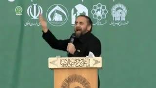 مداحی حاج احمد واعظی در آئین شکرانه خدمت، عزت و اقتدار