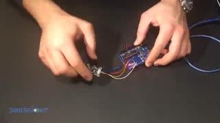 آموزش سنسور بیومتریک Fingerprint R301 تعریف اثر انگشت