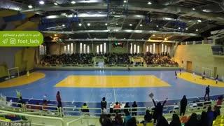 خلاصه نخستین دیدار تیم ملی فوتسال زنان ایران _ایتالیا