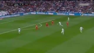 خلاصه فوتبال رئال مادرید 5-0 سویا