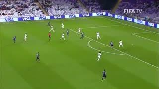 خلاصه فوتبال الجزیره امارات 1-2 رئال مادرید