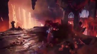 تریلر جدید اکشن از گیم پلی بازی Darksiders 3