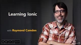 یادگیری آیونیک(Ionic)