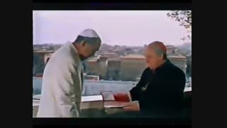 """فیلم کفشهای ماهیگیر . کشیشی بهنام """"لاکوتا"""" (کوئین) دوبله فارسی"""