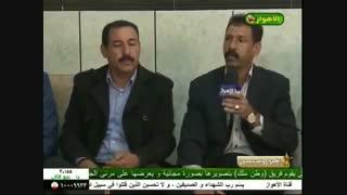 الشاعر أبو سعید العنگودی فی جلسة عشیرة العنجاجید الخالدی
