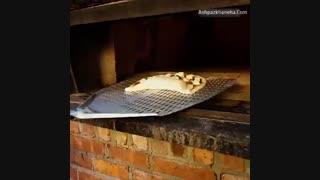 پیتزا  کالزون  ایتالیا فست فود