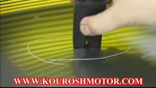 دستگاه صافکاری بیرنگ مغناطیسی هاتباکس WOYO