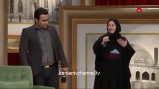گفتگوی خنده دار مهران مدیری با نیوشا ضیغمی در دورهمی - Dorehami 3 Part 6