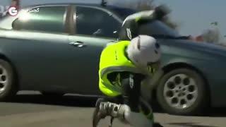 جلیقه هلیت ناجی موتورسواران در تصادفات جاده ای (گجت تی وی)