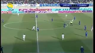 خلاصه فوتبال استقلال خوزستان 0-3 استقلال تهران