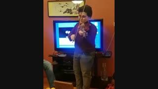 ویولن نوازی بسیار زیبا و جالب