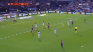 خلاصه فوتبال سلتاویگو 1-1 بارسلونا