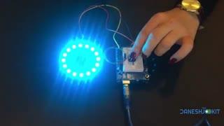 آموزش راه اندازی حلقه LED Neo Pixel Ring RGB با آردوینو