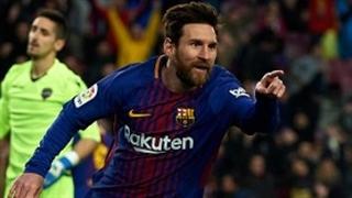 خلاصه بازی : بارسلونا 3 - 0 لوانته ( HD )