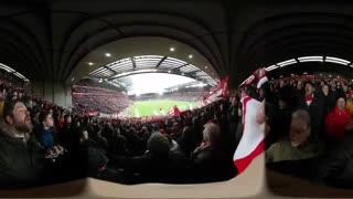 ویدیوی 360درجه - از سکوهای تماشاگران اورتون (EVERTON)