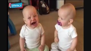 دعوای کوچولوهای بامزه