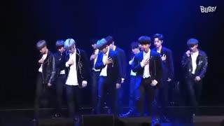 اجرای آهنگ NEVER توسط گروه Wanna One