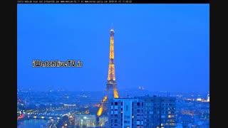 پخش زنده دوربین برج ایفل