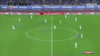 بازی کامل رئال سوسیداد 2-4 بارسلونا ( 24 دی 96 )
