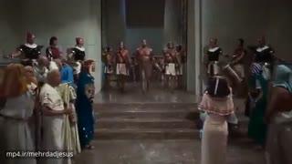 فیلم کامل ده فرمان موسی . فیلم موسی پیامبر دوبله فارسی