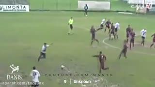 کلیپ گلهای جالب و ناخاسته در فوتبال - netpaak  نت پاک