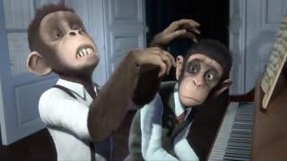 انیمیشن سمفونی میمون