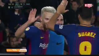 خلاصه بازی: رئال بتیس ۰-۵ بارسلونا