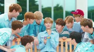 تبلیغ های همه ی اعضای Wanna One برای شیرینی های 요하이