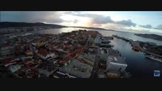 گردشی در برگن ، دومین شهر بزرگ نروژ