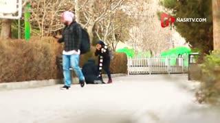 دوربین مخفی:شوهرتون شهید شد