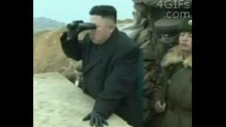 وقتی اون می بینه یه آمریکایی با شهروند کره ای گرم گرفته ...