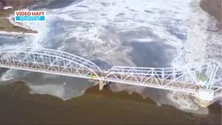 نقطه مرزی یخ زدن یک رودخانه