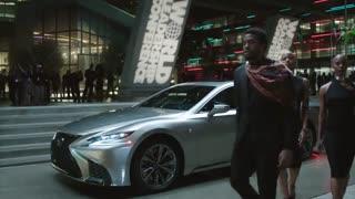 تبلیغ Lexus LS 500 F SPORT در فیلم Black Panther