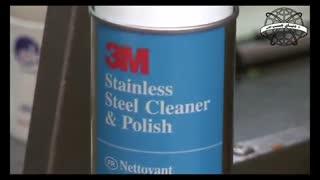 اسپری پولیش و تمیز کننده ، 600 گرم محصول کشور آمریکا اسپری پاک کننده سطوح استیل پاک کننده و براق کننده سطوح استیل