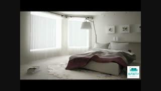 طراحی داخلی اتاق خواب ، هزار رنگ و بافت