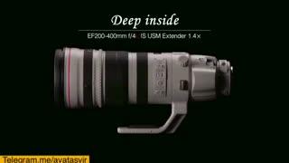 معرفی لنز  Ef  200-400 f2.8 L  IS USM