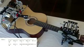 کاور آهنگ Little Talks توسط ربات ساخته شده Lego