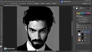 نحوه تبدیل عکس به نقاشی در فوتوشاپ