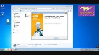 آموزش کامل نصب آنتی ویروس نود 32 بهمراه مراحل آپدیت آنلاین و آفلاین