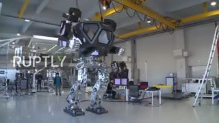 اولین زره رباتیک غول پیکر