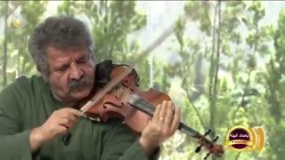 ویولن نوازی زیبا و با احساس ابراهیم نقدیان در سه گاه | شاه سازها