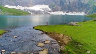 دریاچه زیبای راتی گالی در پاکستان
